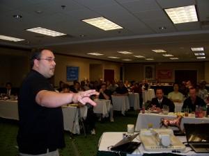 Matt Bacak teaching at our September 2009 Chapter Meeting